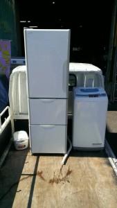 冷蔵庫、洗濯機、炊飯器、全品2012年製造