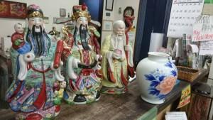 置物、花瓶、将棋盤など