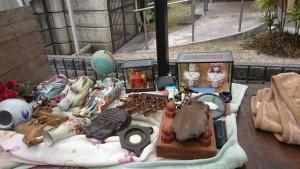 置物、花瓶、将棋盤など2
