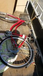 下駄箱、自転車 です。引取ました!