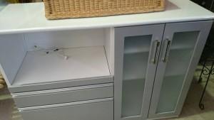 机、イス、キッチンカウンター、冷蔵庫(1ドア、13年)、タンス、事務イス、鉢 m2