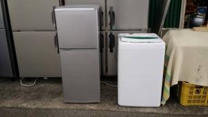 アクア冷蔵庫2015年、洗濯機4.5㎏2014年 です。買取ました!