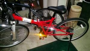折りたたみ自転車(26インチ) です。買取ました!