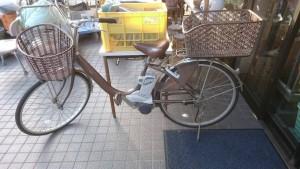 Panasonic電動アシスト自転車2012(推測)サビあり s2