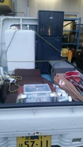 冷蔵庫、洗濯機(店行)12年、レンジ、座イス、掃除機、他