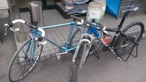 ロードバイク2台
