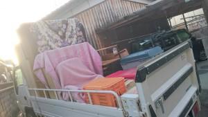 洋タンス、整理タンス、pcラック、着物、進物、中古食器 です。引取ました!3