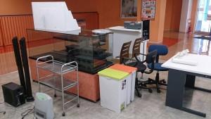 書庫、書棚、本棚、ショーケース、台、椅子など i3