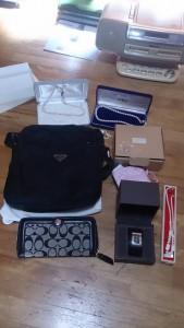 ホワイトゴールド指輪、ブランドバック・財布・腕時計・ブルーレイプレイヤー・扇風機・小物家電など k3